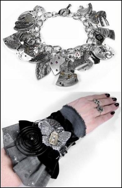 Эксклюзивные браслеты в стиле стимпанк