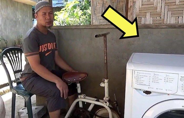Филиппинский способ машинной стирки «за спасибо».