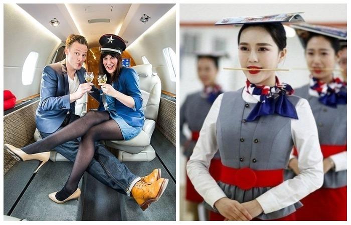 «Жуткие» секреты стюардесс.