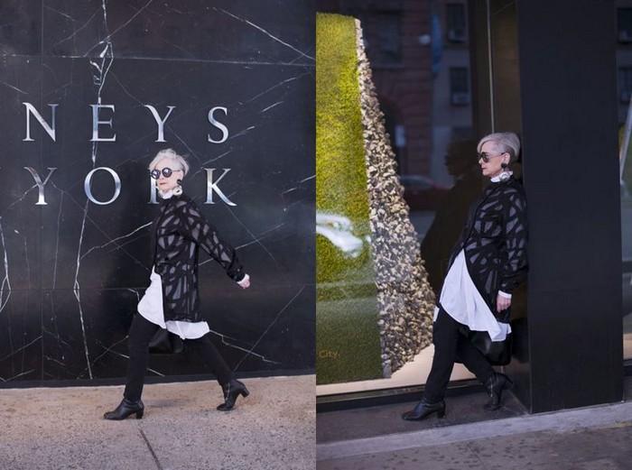 Accidental Icon  - блог о том, как одеваться стильно в лучшие годы жизни