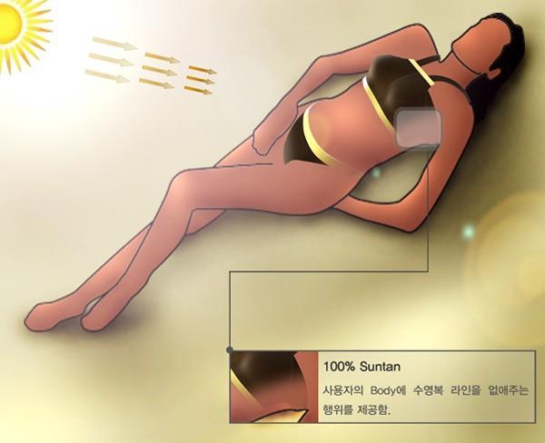 Технологичный купальник от корейского дизайнера для хорошего загара