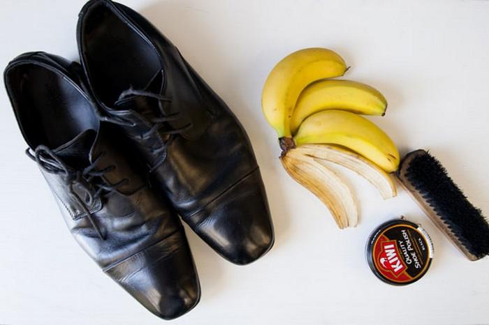 banana peel shoe polish