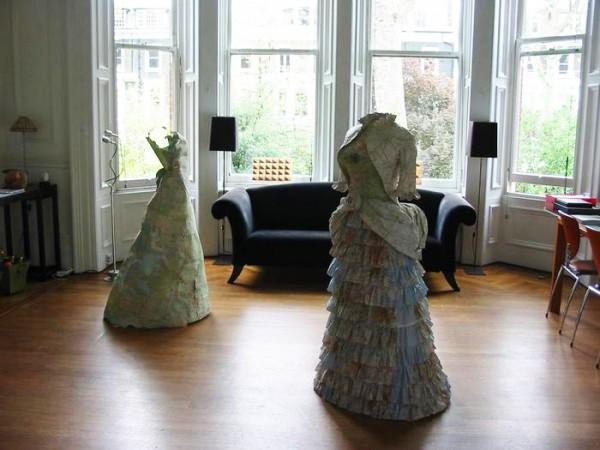 Исторические платья-атласы из современной коллекции Сьюзан Стоквелл (Susan Stockwell)