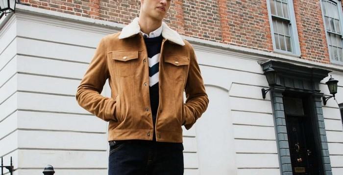 Воротник – слабое звено любой замшевой куртки.