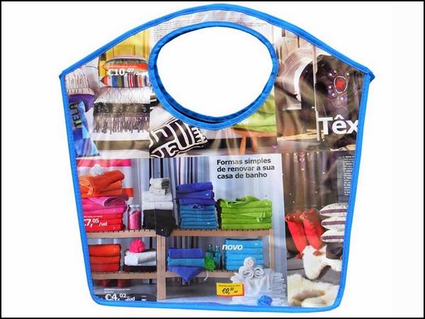 «Не читай мою сумку!»: коллекция аксессуаров из каталогов товаров IKEA