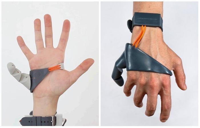 The Third Thumb или «шестой палец» расширяет человеческие возможности