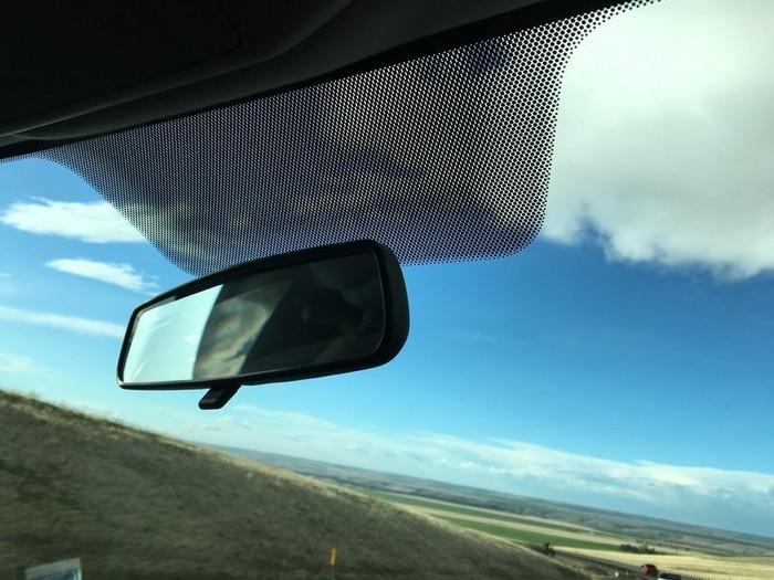 Фритты защищают не только стекло, но и водителя от солнца.