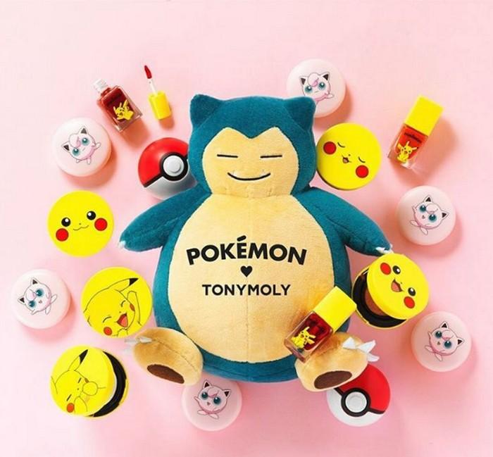 Корейская косметика с покемонами POKEMON от TonyMoly