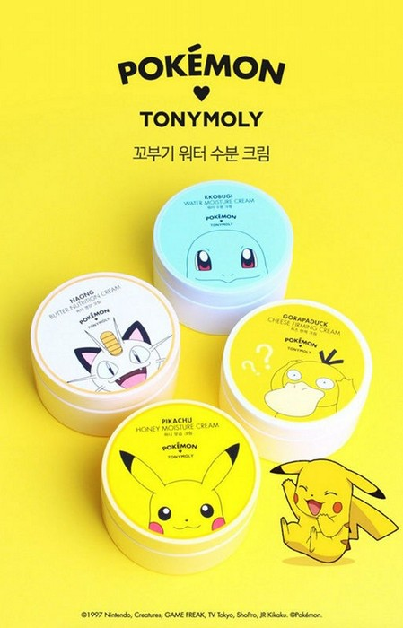 Крем для  лица POKEMON от TonyMoly