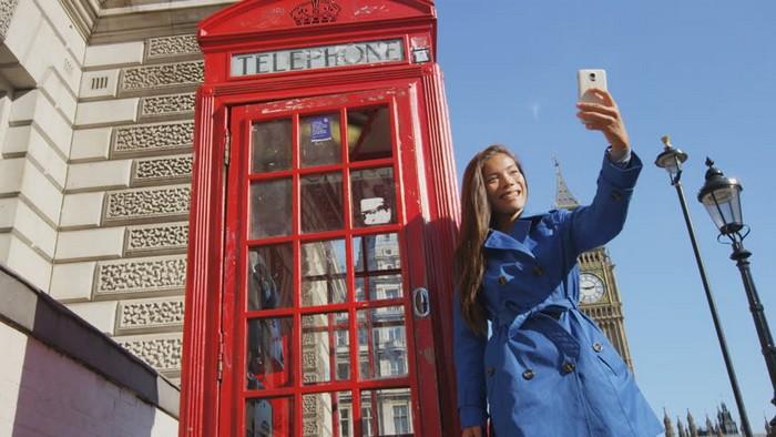А разве без этого кто-то поверит, что вы были в Лондоне?