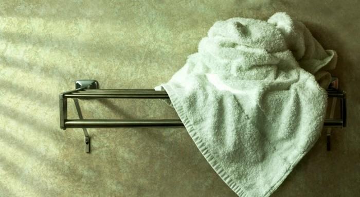 Каждому полотенцу – отдельная вешалка