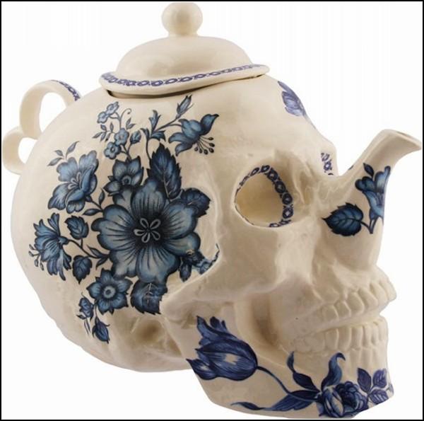 Коллекция дизайнерских черепов из фарфора от Тревора Джексона