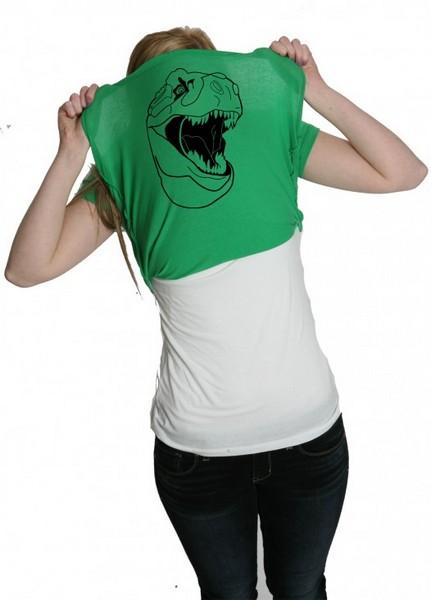 «Ask Me About my T-rex»: футболки для гиков, вечеринок и пикапа