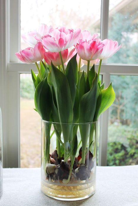 Букет тюльпанов, который так просто не завянет.