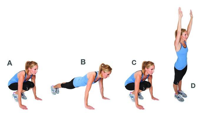 «Берпи»(«burpee») - кроссфит упражнение, которое необходимо всем и каждой.