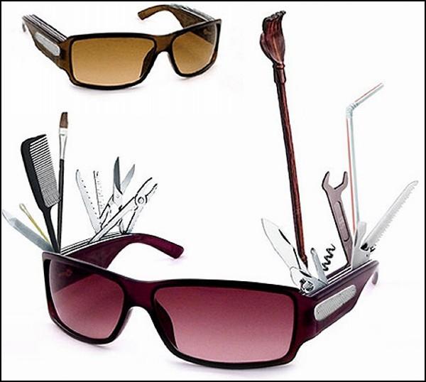Больше, чем просто защита от солнца: очки-швейцарский нож