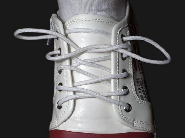 Как завязать шнурки красиво и надёжно