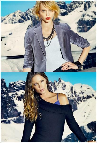 Женские модели тёплой одежды особенно нежны и приятны на ощупь