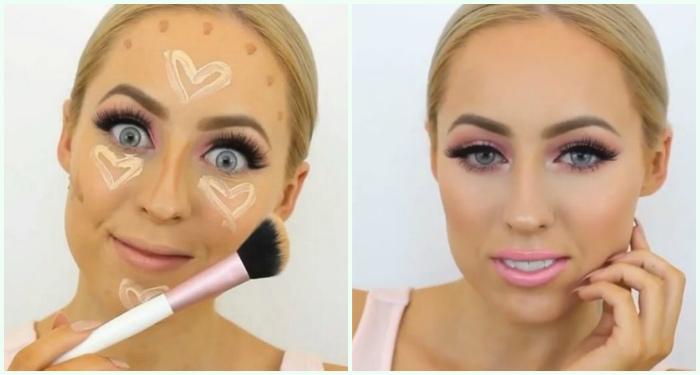 «Романтичное» контурирование или как превратить макияж в почти детскую забаву