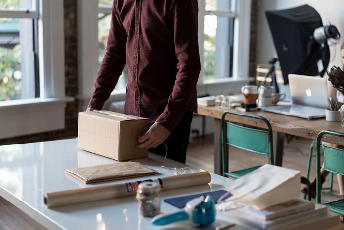 Коробка с коробками – это как пакет с пакетами.