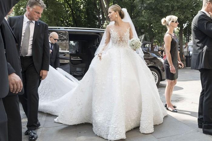 Свадебное платье Виктории Сваровски за почти миллион евро