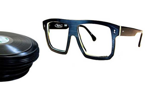 Стильные очки Vinylize из старых виниловых пластинок