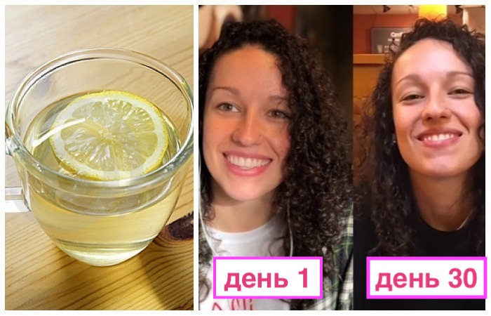 Вода с лимоном портив кофе.