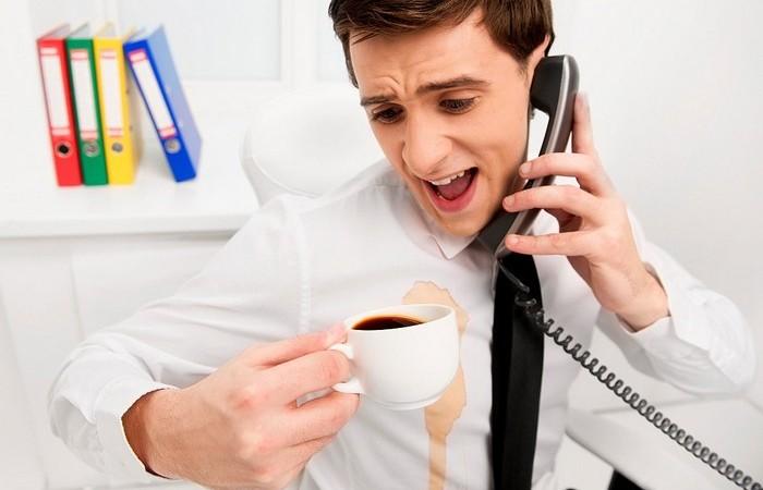 Пятна от кофе – ещё не приговор.