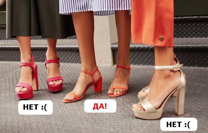 На что обратить внимание перед покупкой новых туфель.