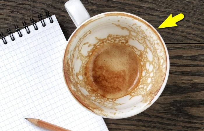 Как часто следует мыть кофейную кружку.