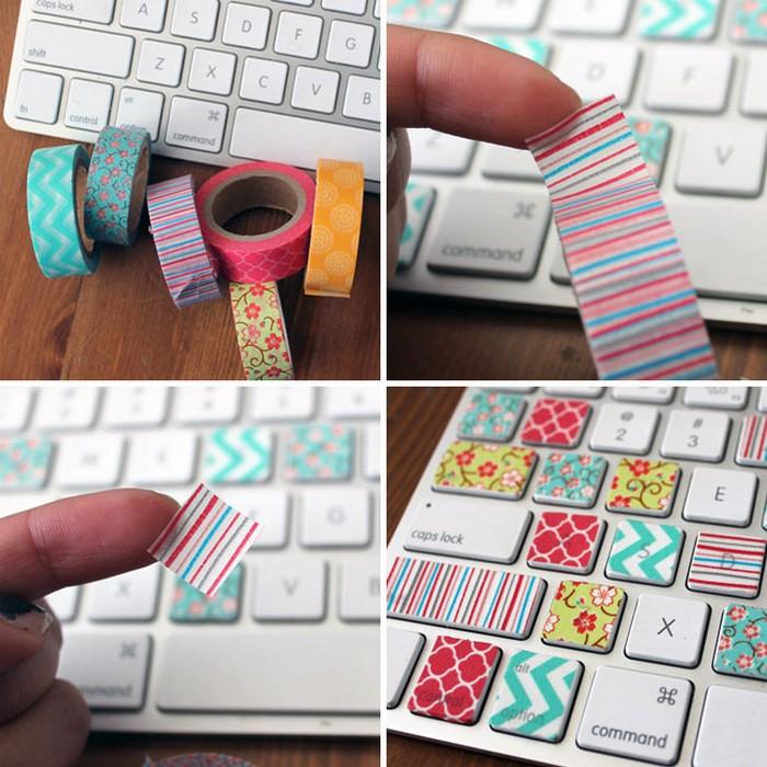 Как украсить клавиатуру от ноутбука своими руками