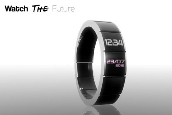 Концепт стильного мультимедийного браслета Watch the Future