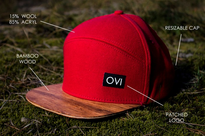 Кепки и бейсболки с деревянным козырьком от независимого эко-бренда Wear Ovi