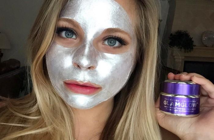 Серебряная маска для лица GRAVITYMUD