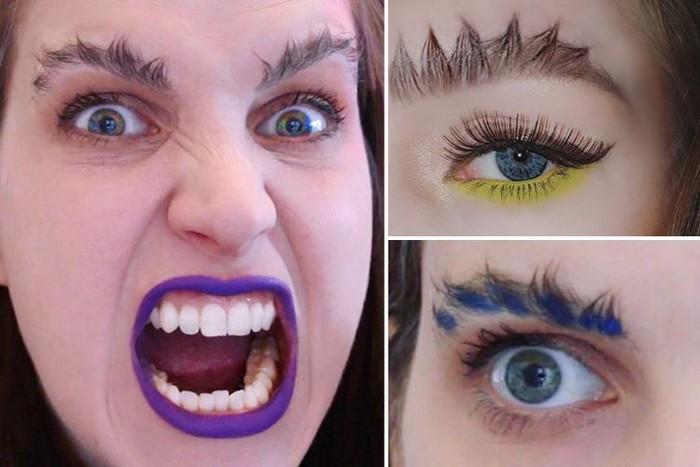 Жуткие тренды из Instagram: «Драконьи» брови