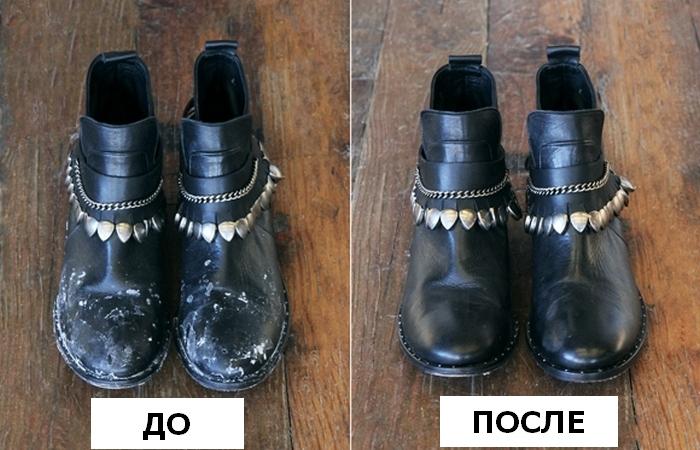 Три шага к идеально чистой обуви даже в межсезонье