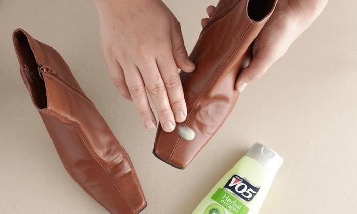 Кондиционер для волос и обуви