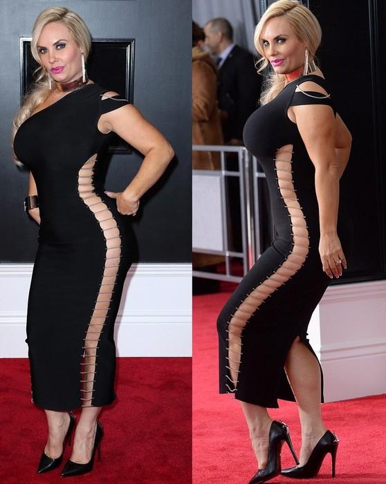 Жена Ice-T Коко Остин продемонстрировала внушительный разрез.