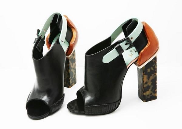 «Модернизированная» обувь от дизайнера-постмодерниста