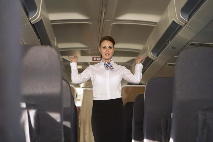 Эти обозначения необходимы стюардессам.