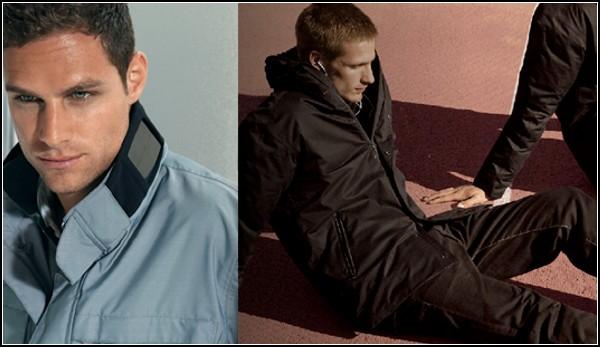 Две версии стильной куртки с зарядным устройством