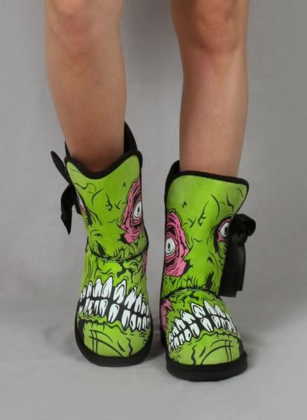 «Весёлые» зомби-сапожки от популярного брэнда Iron Fist