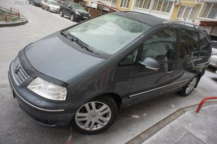 VW Sharan – комфортный, но не очень качественный/ Фото: r93.ru