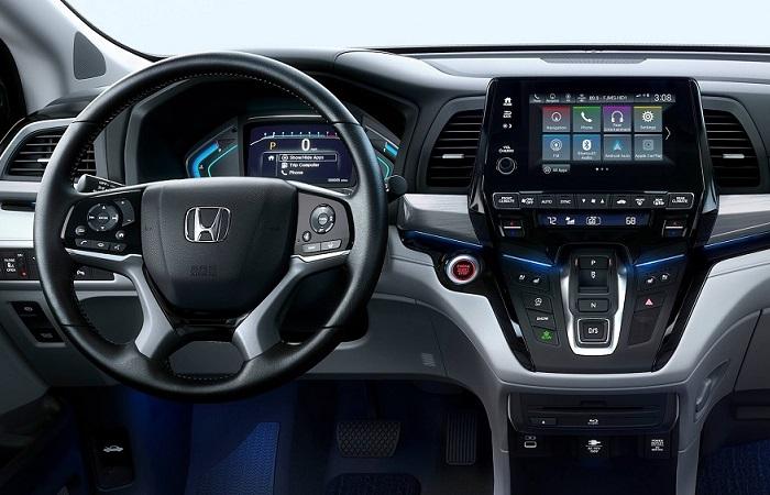 Салон Honda Odyssey/ Фото: automobiles.honda.com