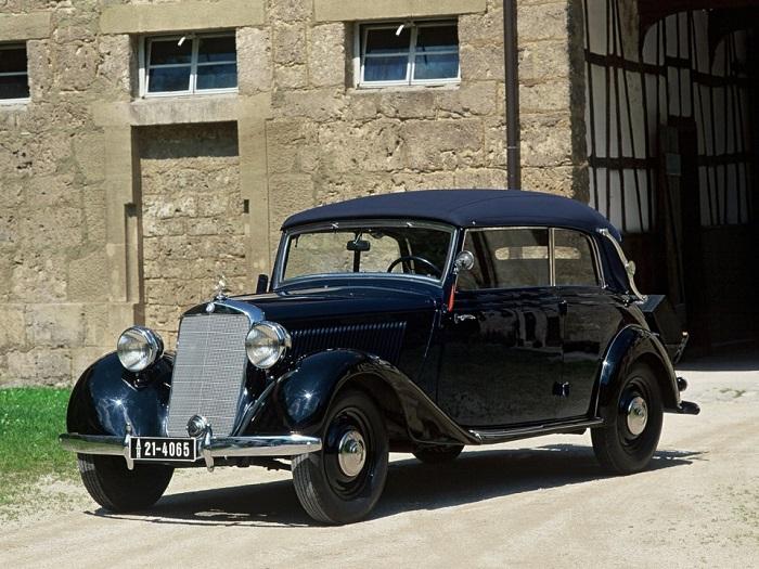 Производство Mercedes 170V возобновилось лишь в 1947 году/ Фото: drive2.ru