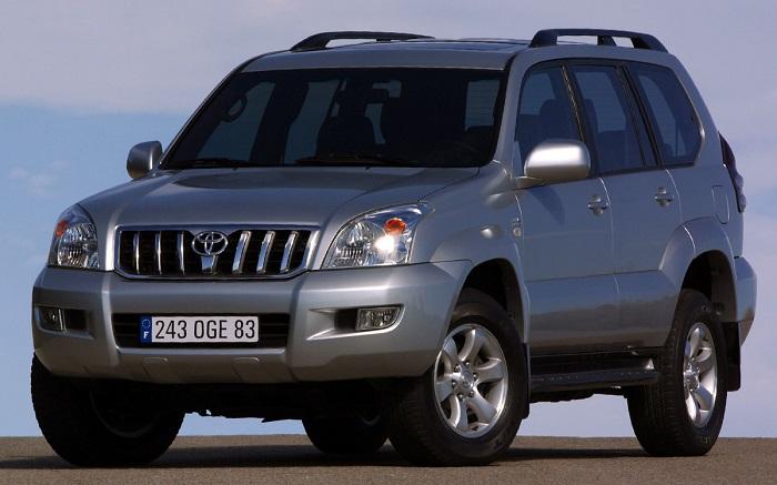 Land Cruiser Prado 120 – один из самых продаваемых внедорожников/ Фото: auto.ironhorse.ru