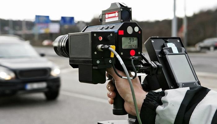 Измерение скорости движения машин/ Фото: swp.de