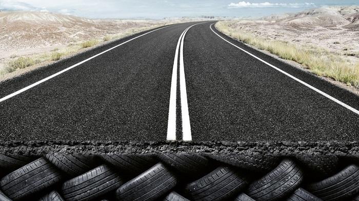 «Резиновые» дороги/ Фото: corporate.evonik.de