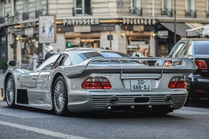 Mercedes-AMG CLK GTR, оснащенный мотором LS600 V12