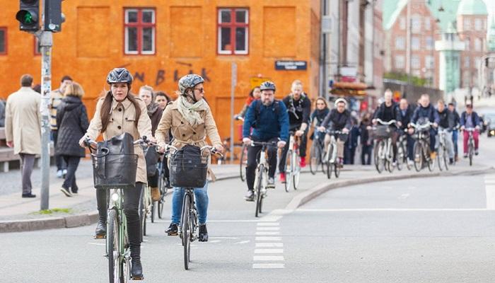 Велосипедисты на германских дорогах/ Фото: greenfinder.de